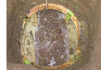 how to tell if septic tank is full